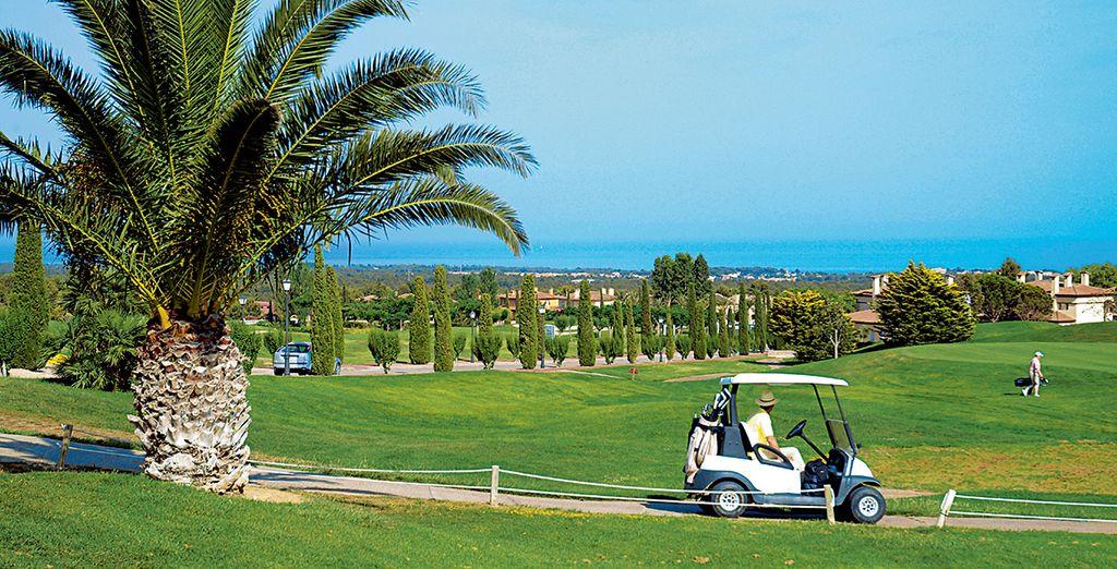 Verbessern Sie Ihr Handycap auf dem hoteleigenen Golfplatz