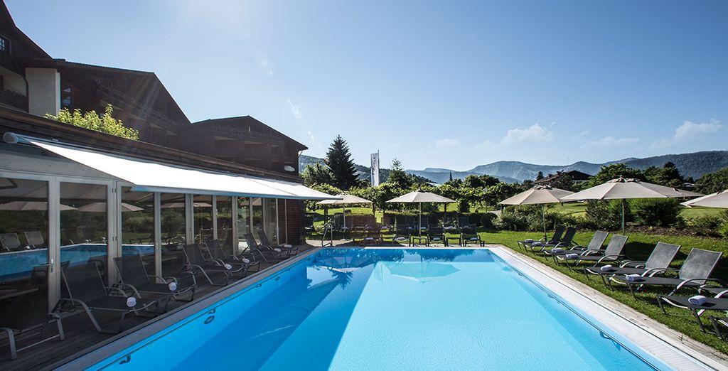 Buchen Sie ein Wochenende zwischen dem Wohlbefinden allein im Hotel Lindner Parkhotel und Spa