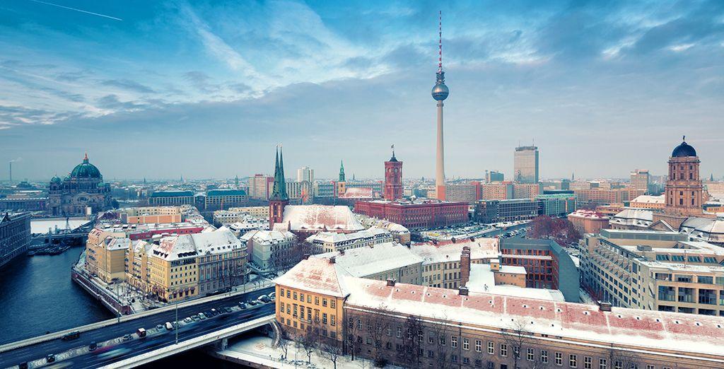 Entdecke schöne Stadtteile in Berlin