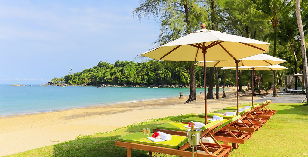 Entdecken Sie Ruhe am Strand im The Briza Beach Resort Khao lake 4*