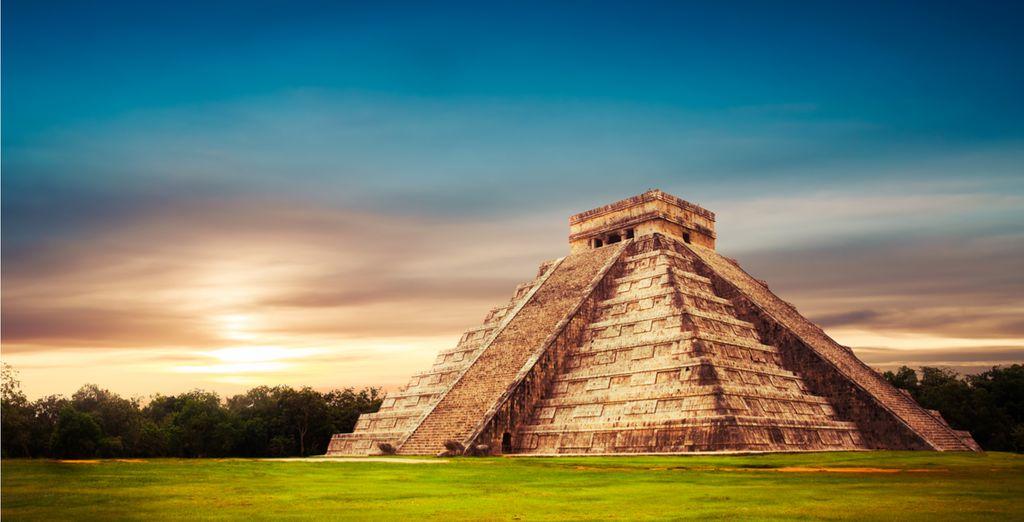 Hier haben Sie die Möglichkeit eines der sieben Weltwunder der Antike zu bewundern!