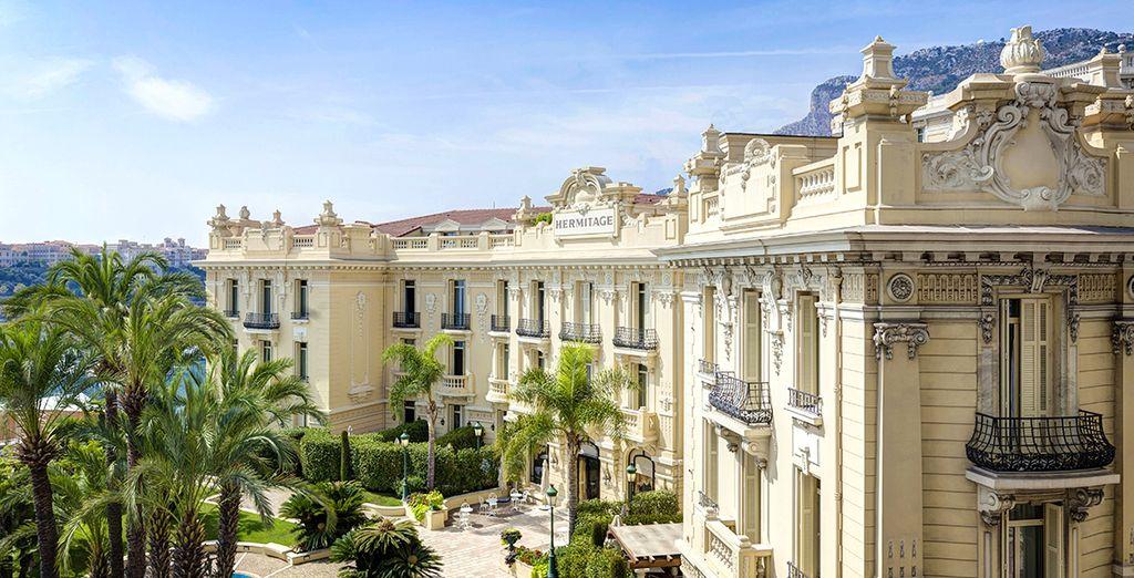 Willkommen im Hemitage Monte Carlo