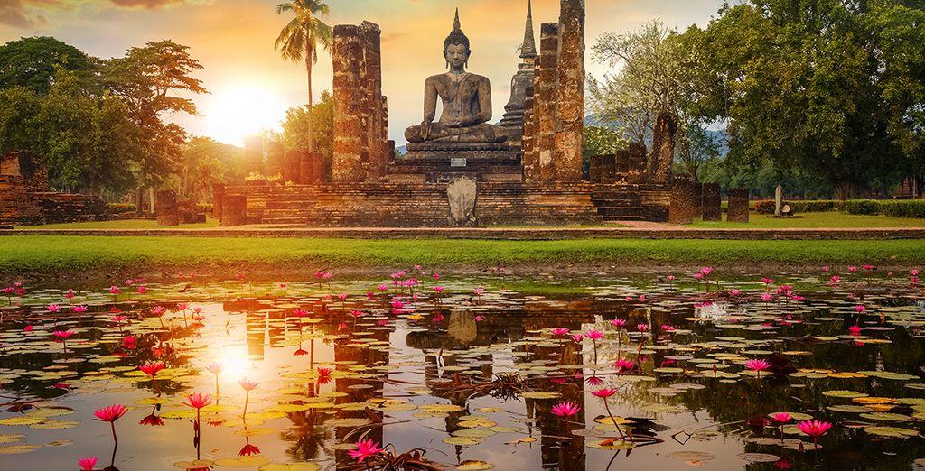 Ayutthaya Tempel in Bangkok