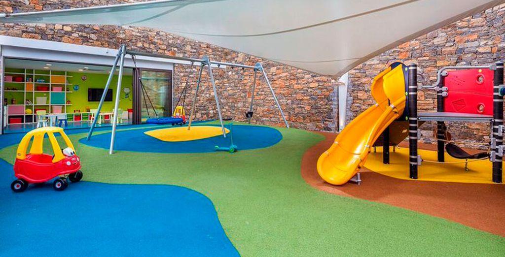Un espacio especialmente reservado para los niños
