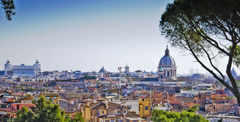 En Roma, la ciudad eterna
