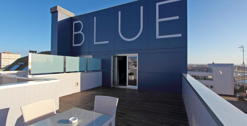 ¡Bienvenido al hotel Blue Coruña!