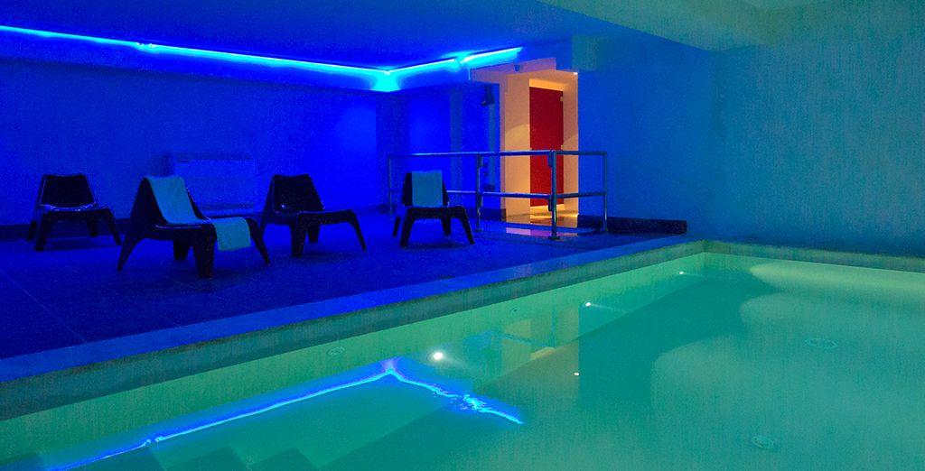 Además dispondrás de acceso a la piscina interior