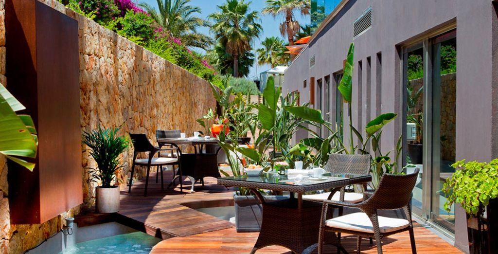 Un moderno y elegante hotel de 5*