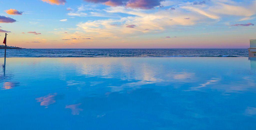 Entre el cielo y el mar en Creta