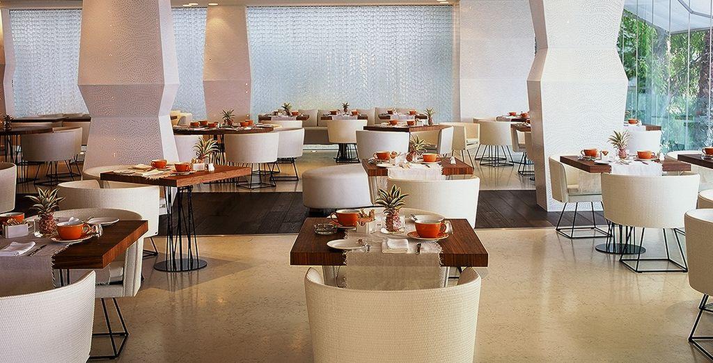 Mímate con una deliciosa comida en el restaurante Caprice
