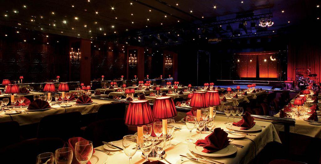 El restaurante Aladino cuenta con una programación de alto nivel en un ambiente cálido y refinado