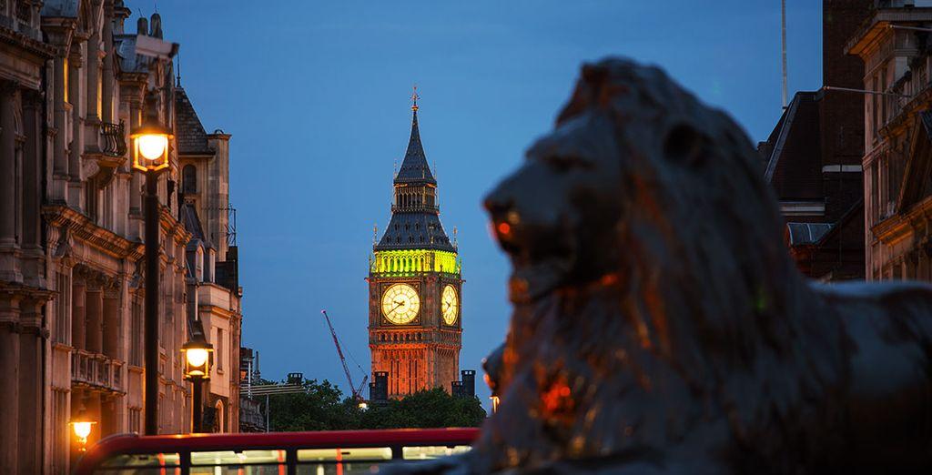 Londres le está esperando