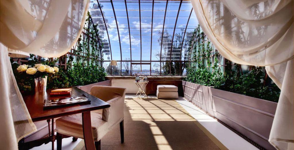 O en la Suite Greenhouse