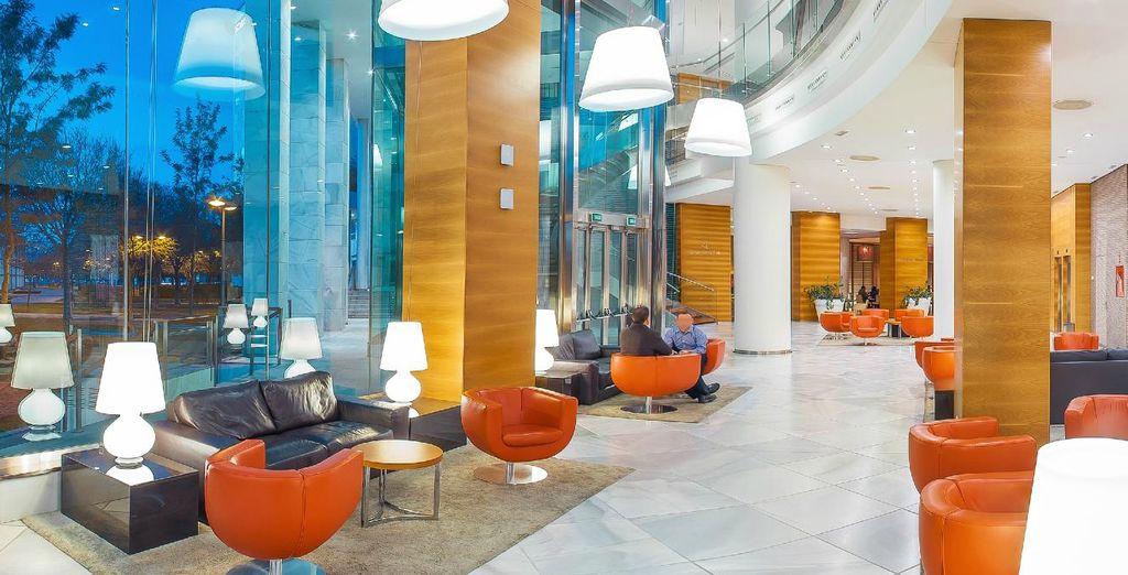 Un hotel de 4* moderno y acogedor
