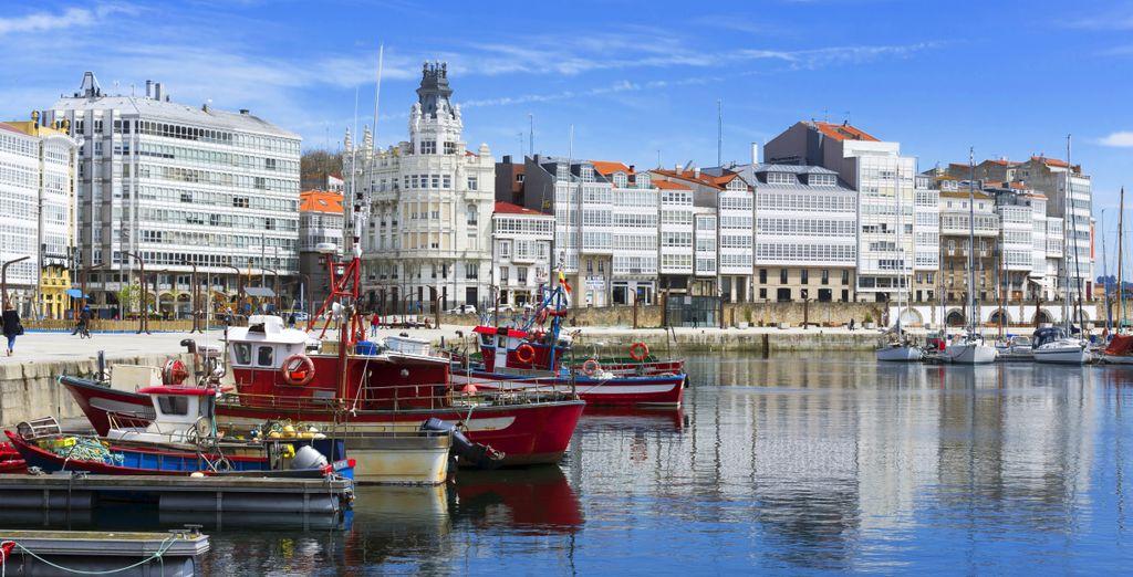 Antes de salir a descubrir la magnífica ciudad de La Coruña