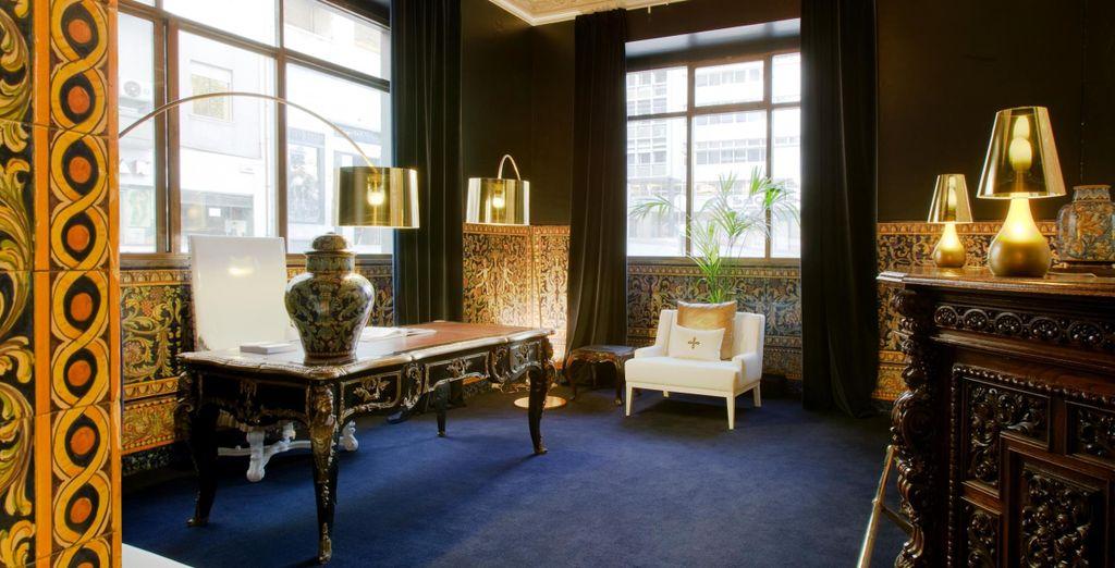 Combinado con diseño y estilo contemporáneos