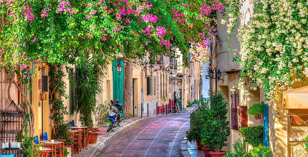 Conozca los encantos de la capital griega