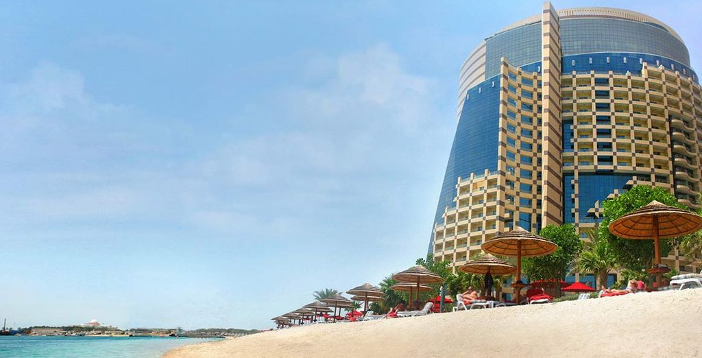 El Hotel Khalidiya Palace Rayhaan le encantará