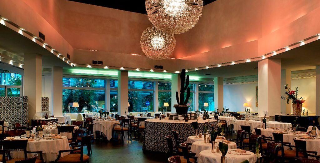 Un gran restaurante...