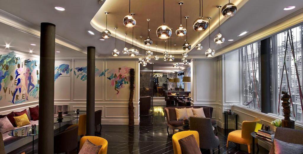 Un hotel decorada al estilo Haussmann