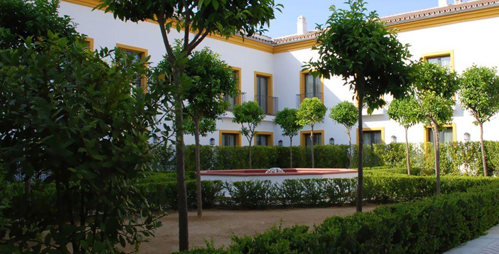 Combina todos los aspectos tradicionales del estilo y la arquitectura de Andalucía con toques modernos