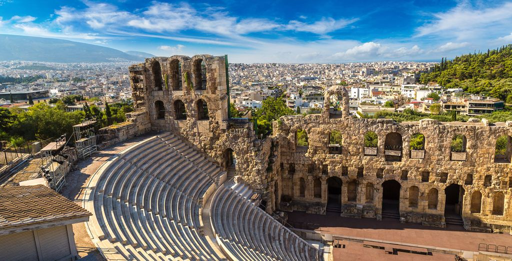 Vuelo más hotel a Atenas, viajes, vacaciones, ofertas baratas en hoteles de lujo