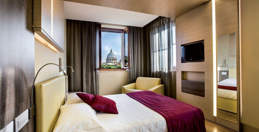 Il Cantico está situado en el centro de Roma