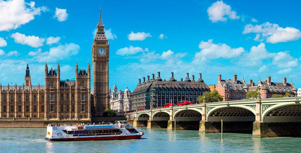vuelo más hotel en Londres con Voyage Privé