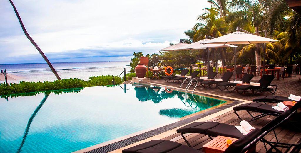 Bienvenido al Hotel  DoubleTree by Hilton Seychelles Allamanda Resort & Spa