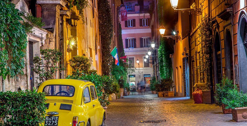 Ofertas de vuelo mas hotel a Roma