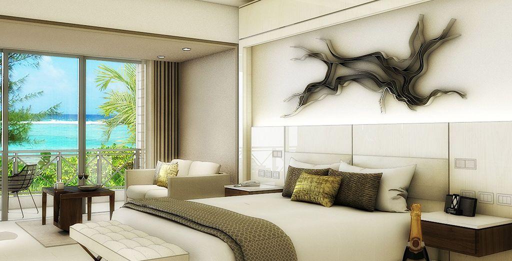 Te presentamos tu Luxury Junior Suite con Vistas al Océano