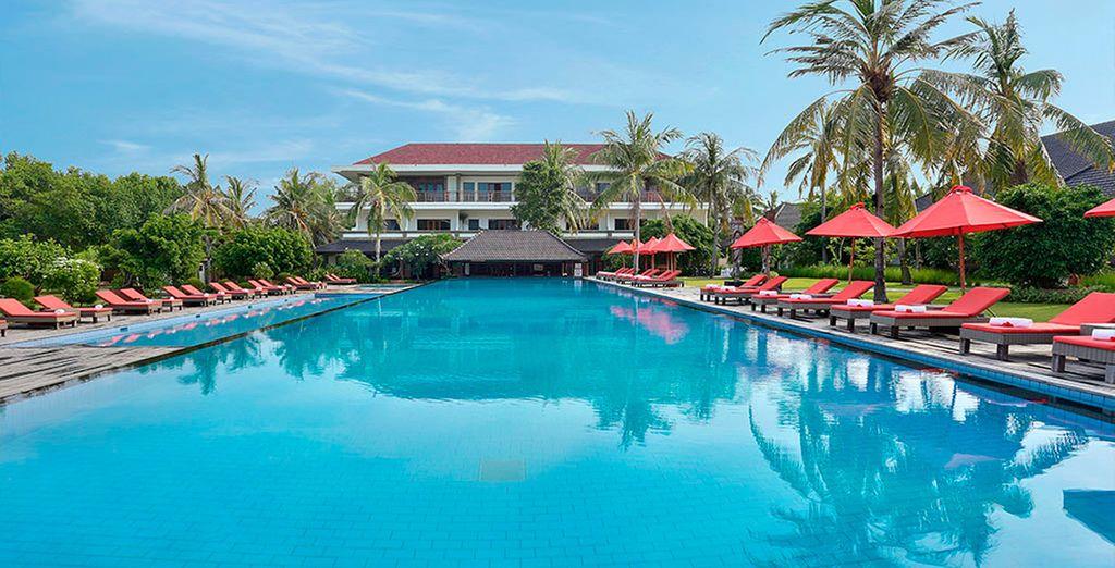 Un resort de paz y tranquilidad