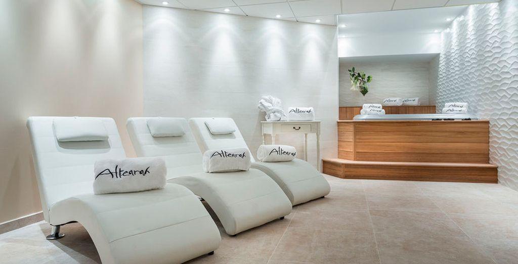 Disfrutará de un 10% de descuento en tratamientos del spa