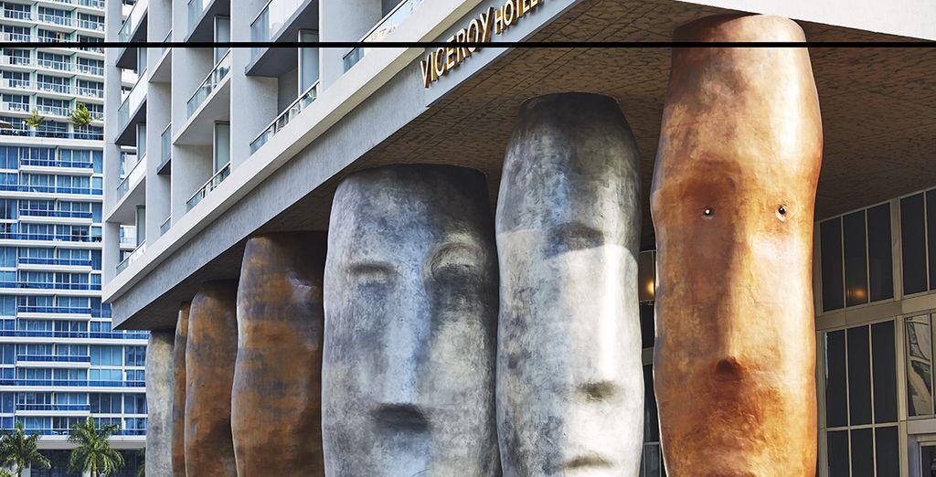 Arquitectura exterior moderna y curiosa