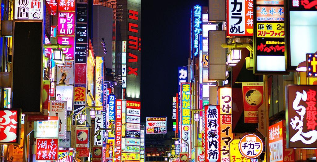 El barrio de Shinjuku