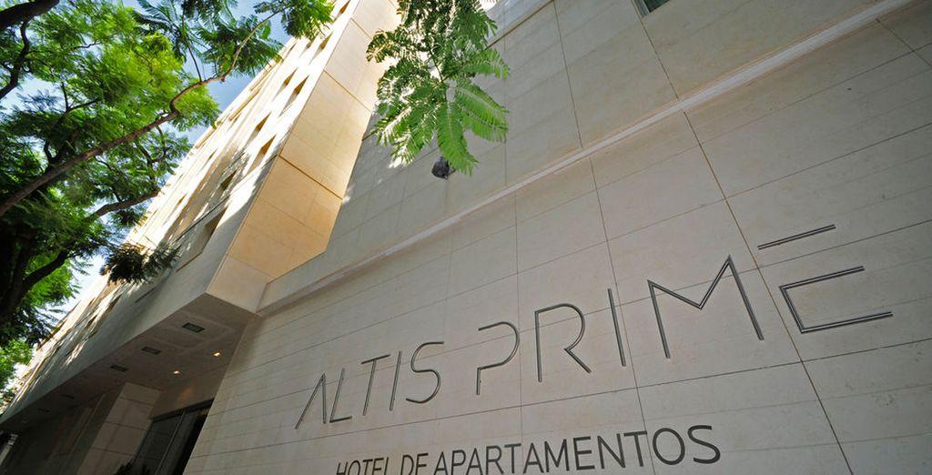 Bienvenido al hotel Altis Prime 4*