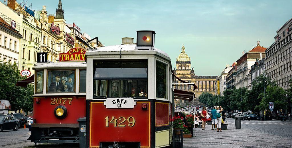 Praga te cautivará en cada rincón