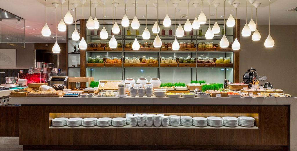 En el segundo paso de la compra, podrás reservar tus desayunos con un descuento especial