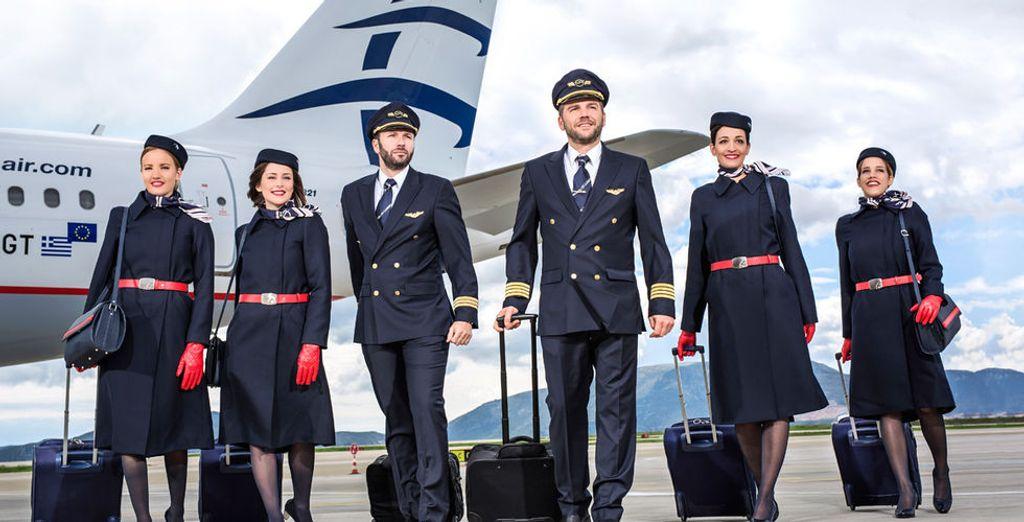 """En 2016 y por sexto año consecutivo, Aegean fue votada """"Mejor Aerolínea Regional de Europa"""""""