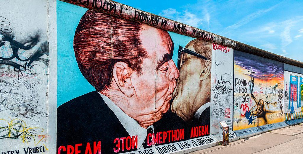 Acércate al Muro de Berlín, símbolo de la historia de la ciudad