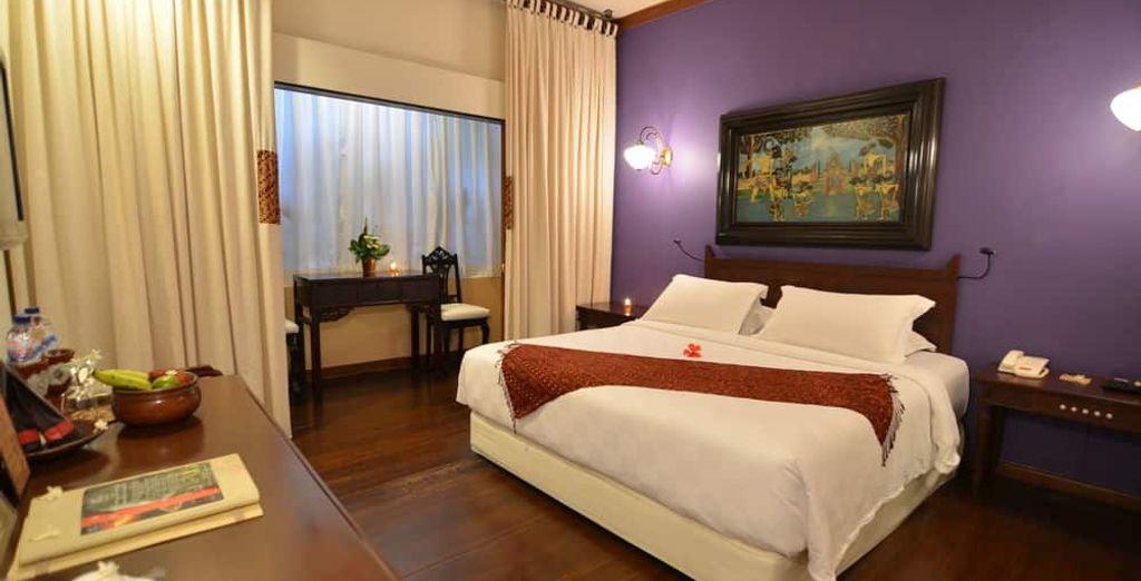 O bien descansa en el maravilloso Tugu Malang 5* con tu opción Premium