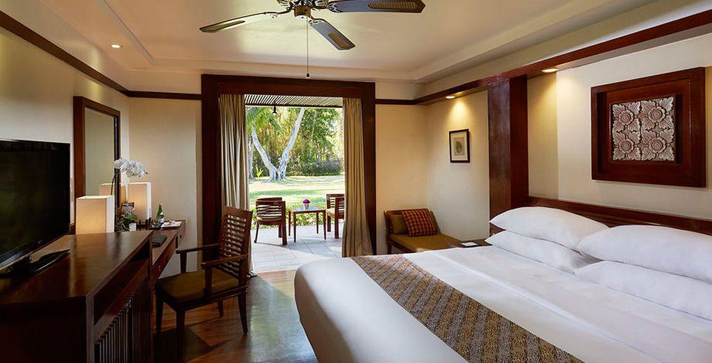 O bien escoge la categoría Premium y descansa en el Melia Bali 5*