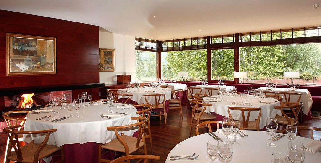 Un restaurante gastronómico con una excelente cocina basada en productos regionales