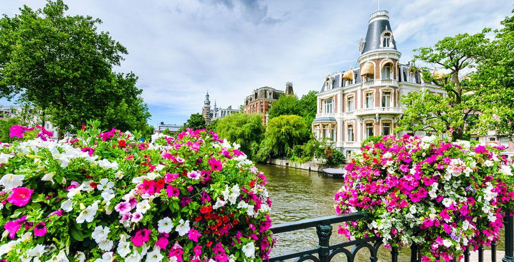 La capital y la cuidad más grande de los Países Bajos