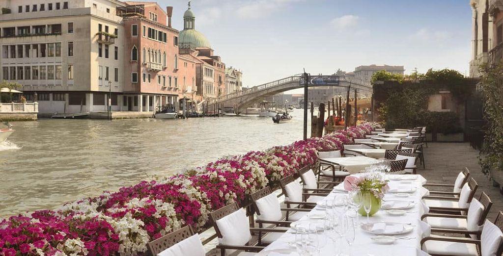 Unas vistas espectaculares al gran canal