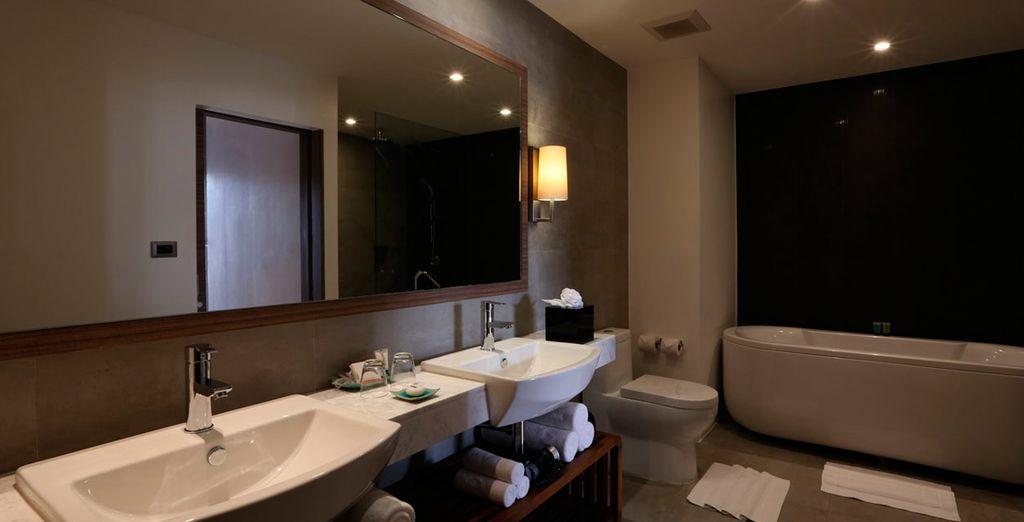 Y baño privado en la misma