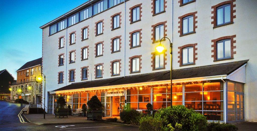 Bienvenido al Clifden Station House Hotel 3*
