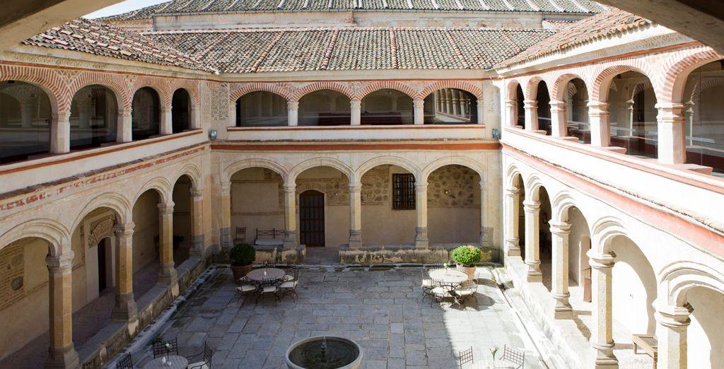 Un claustro segoviano del S.XV