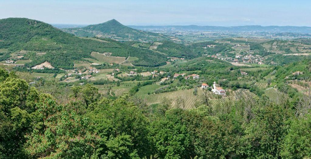 Abano Terme ofrece un marco incomparable para una escapada perfecta