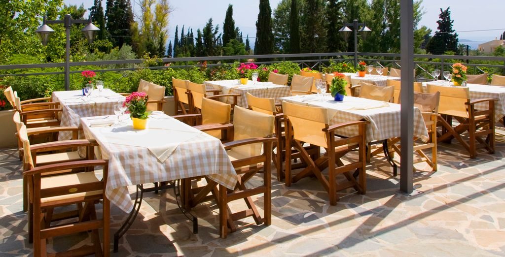 Perfecto para almuerzos o cenas al aire libre